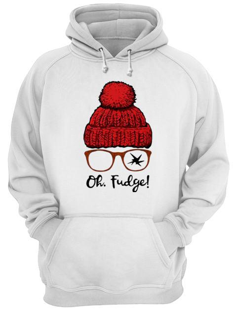 A Christmas Story Ralphie Oh Fudge  Unisex Hoodie