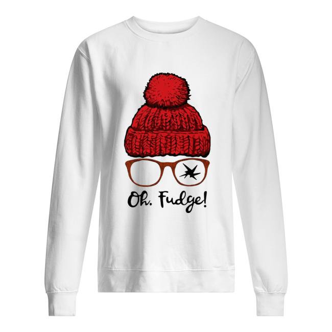 A Christmas Story Ralphie Oh Fudge  Unisex Sweatshirt