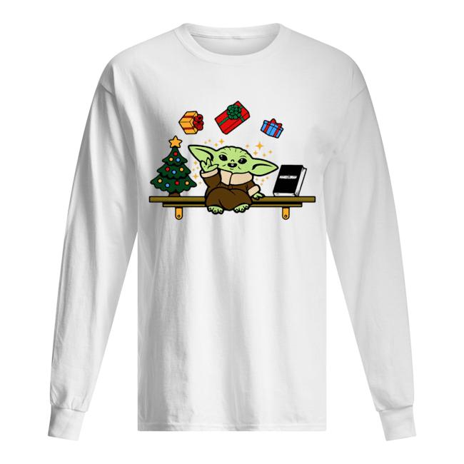 Baby on the Shelf – Baby Yoda  Long Sleeved T-shirt