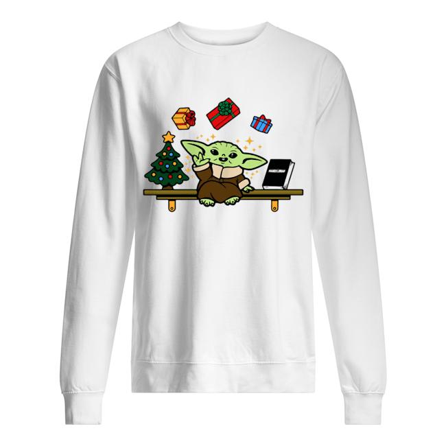 Baby on the Shelf – Baby Yoda  Unisex Sweatshirt