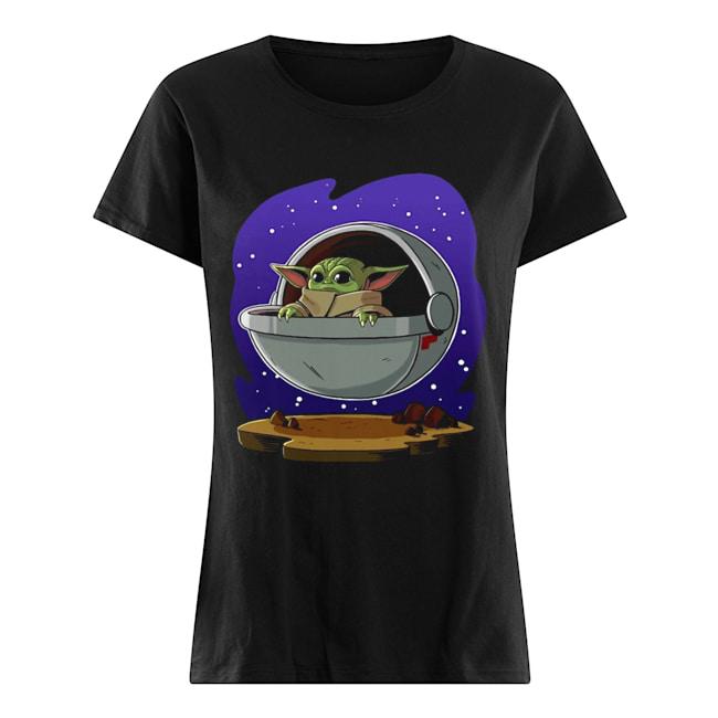 Baby Yoda ART  Classic Women's T-shirt
