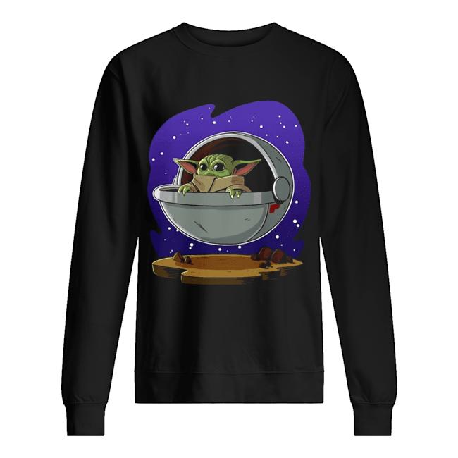 Baby Yoda ART  Unisex Sweatshirt