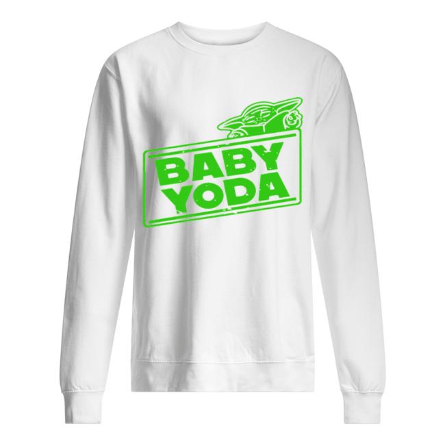Baby Yoda – The Mandalorian  Unisex Sweatshirt