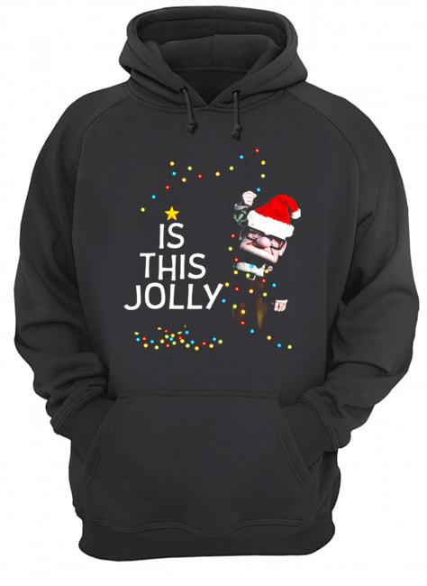 Carl Fredricksen Is this Jolly enough Christmas  Unisex Hoodie