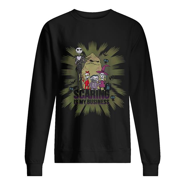 Disney The Nightmare Before Christmas Characters Halloween  Unisex Sweatshirt