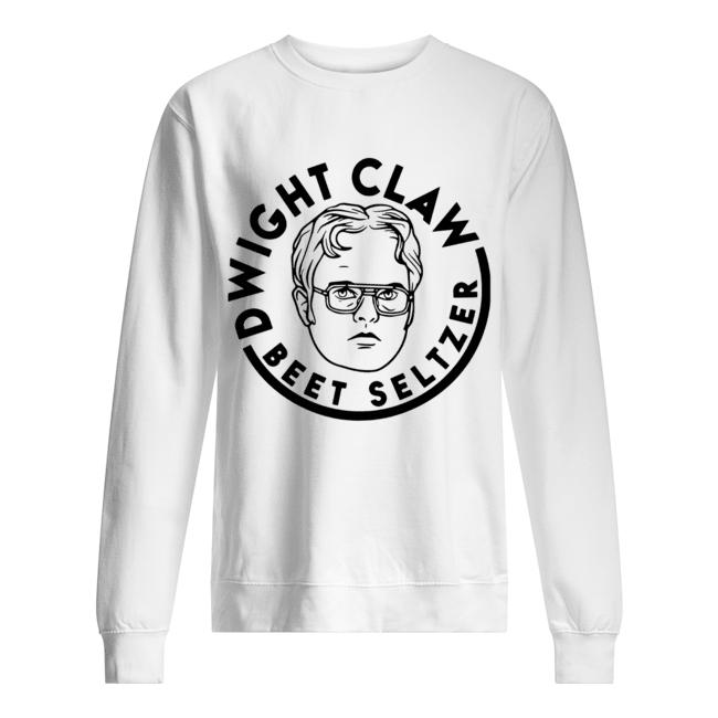 Dwight Claw Beet Seltzer  Unisex Sweatshirt