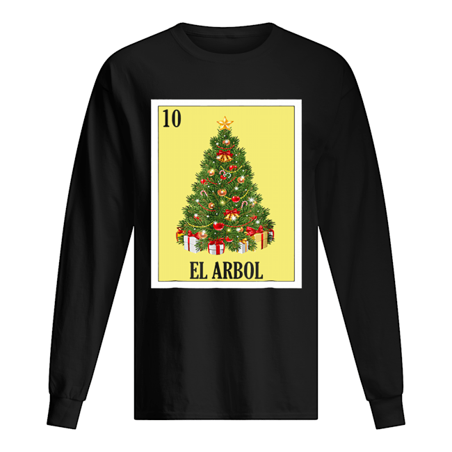 El Arbol Christmas Navidad  Long Sleeved T-shirt