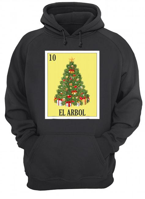 El Arbol Christmas Navidad  Unisex Hoodie
