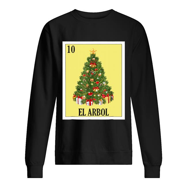 El Arbol Christmas Navidad  Unisex Sweatshirt