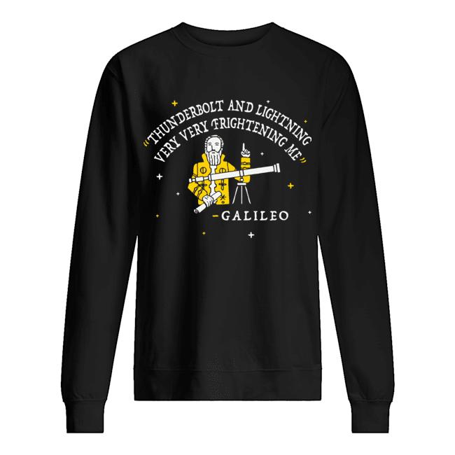 Freddie Mercury Thunderbolt and lightning very very frightening me Galileo  Unisex Sweatshirt