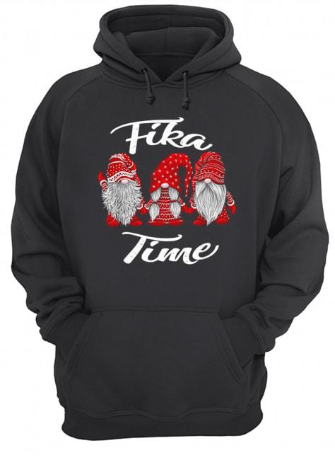 Gnomies Santa fika time Christmas  Unisex Hoodie