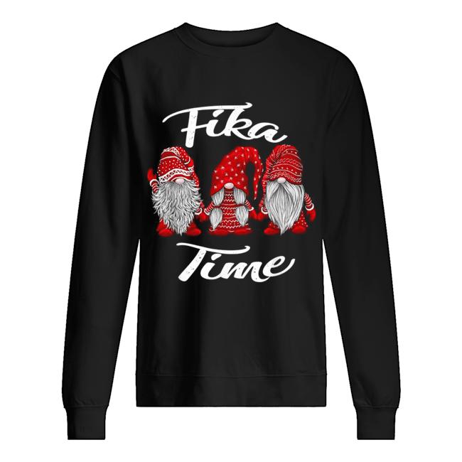 Gnomies Santa fika time Christmas  Unisex Sweatshirt