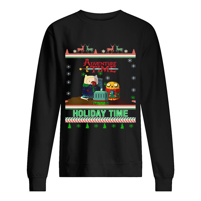 Holiday Time Adventure Time Christmas  Unisex Sweatshirt