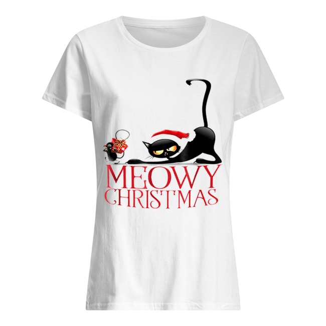 It's my funny Christmas cat pajamas  Classic Women's T-shirt