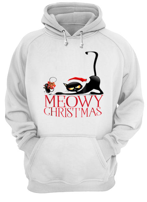 It's my funny Christmas cat pajamas  Unisex Hoodie
