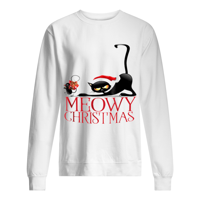 It's my funny Christmas cat pajamas  Unisex Sweatshirt