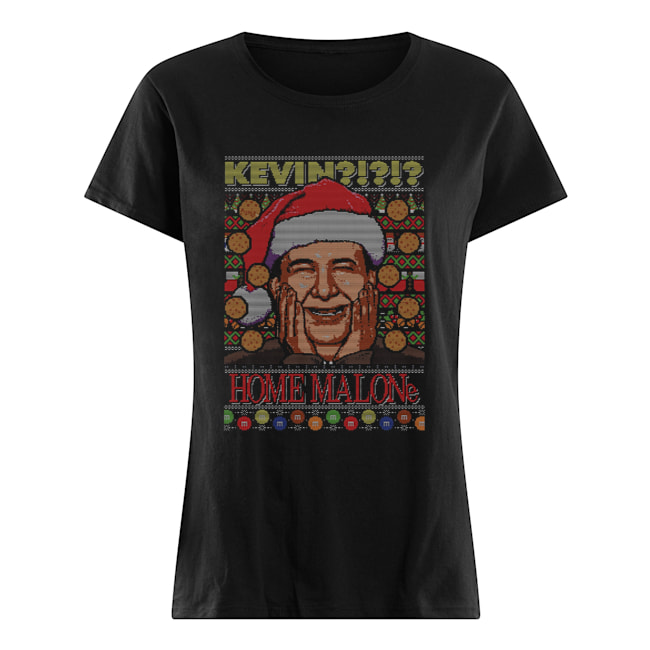 Kevin Home Malone Ugly Christmas  Classic Women's T-shirt