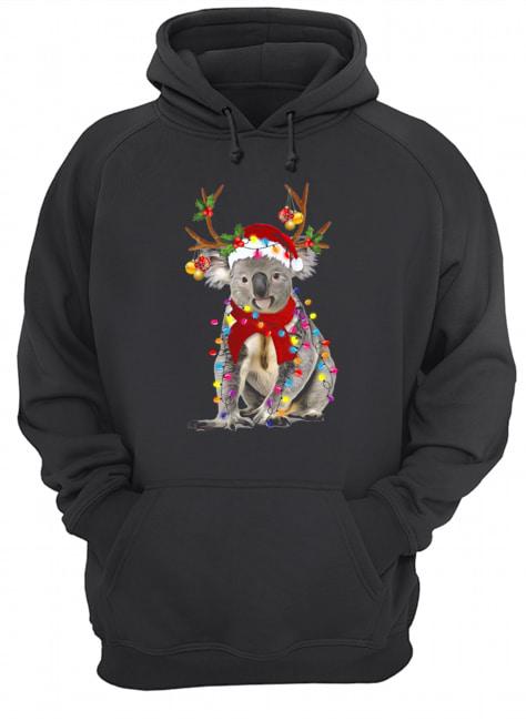 Koala Gorgeous Reindeer Christmas  Unisex Hoodie