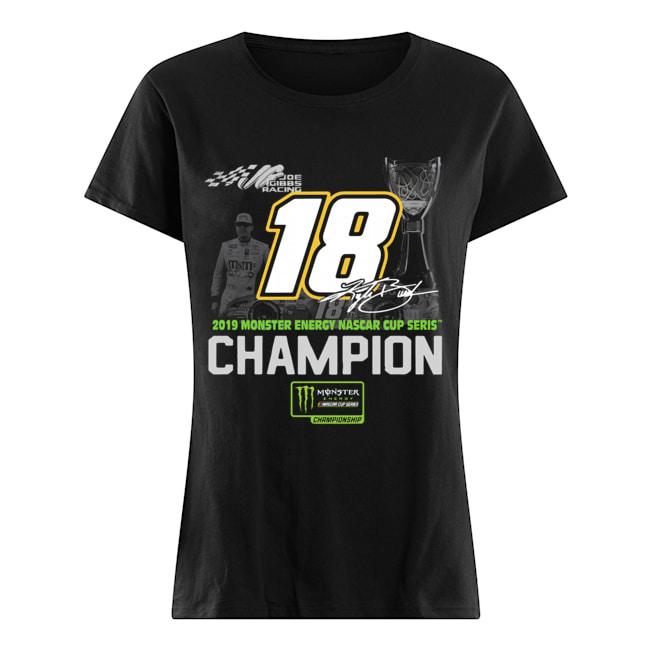 Kyle Busch 2019 Monster Energy Nascar Cup Series Champion  Classic Women's T-shirt