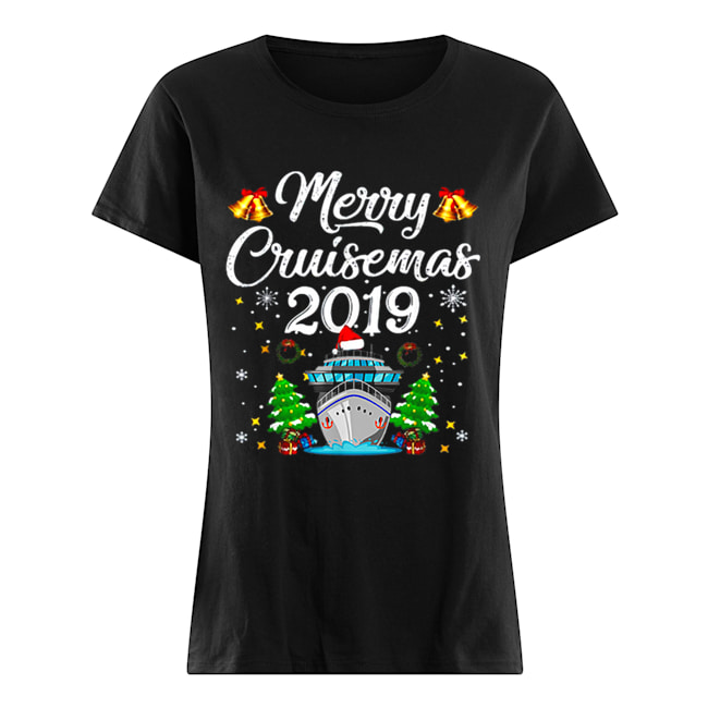 Merry Cruisemas Family Cruise Christmas Funny  Classic Women's T-shirt