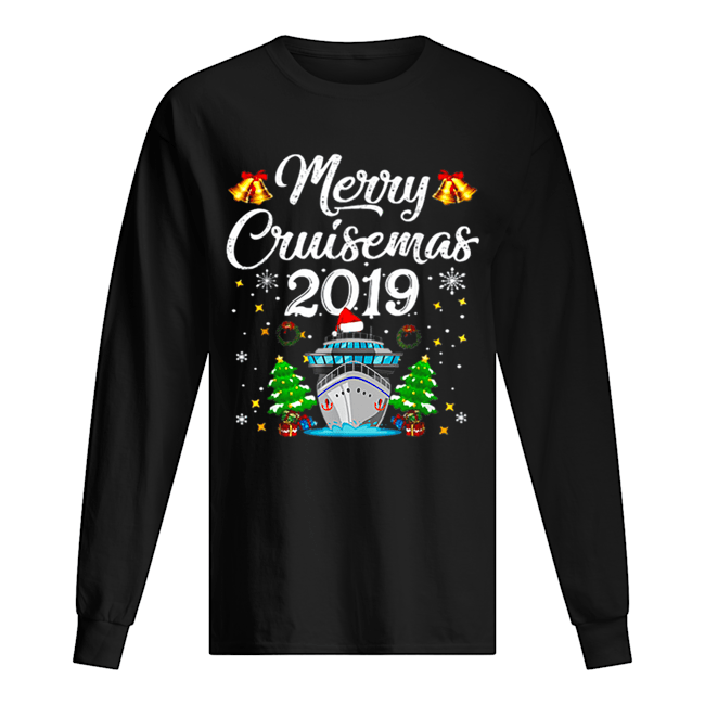 Merry Cruisemas Family Cruise Christmas Funny  Long Sleeved T-shirt