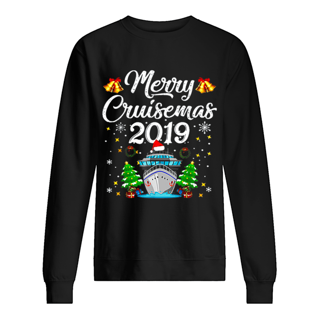 Merry Cruisemas Family Cruise Christmas Funny  Unisex Sweatshirt