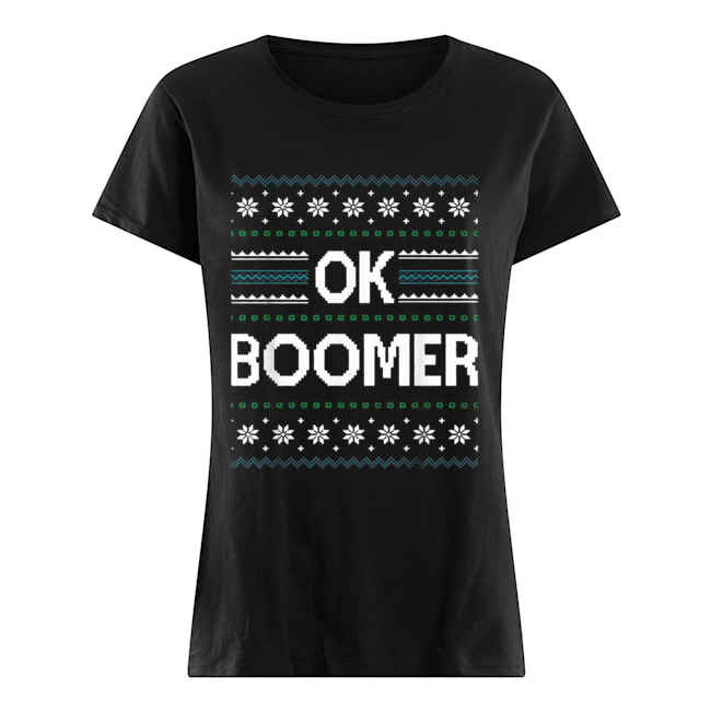 Ok Boomer Christmas  Classic Women's T-shirt