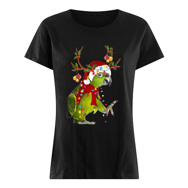 Parrot Gorgeous Reindeer  Classic Women's T-shirt