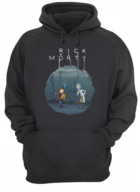 Rick And Morty Mashup Death Stranding  Unisex Hoodie