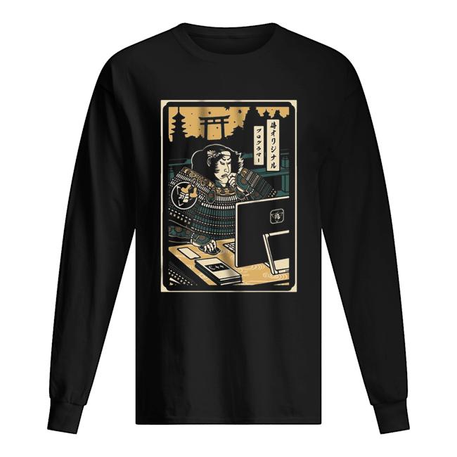 Samurai Programmer  Long Sleeved T-shirt