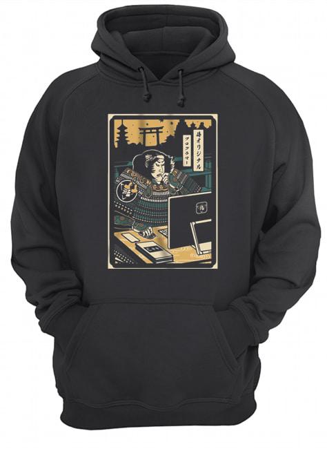 Samurai Programmer  Unisex Hoodie