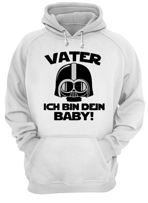 Star Wars Vater Ich Bin Dein Baby  Unisex Hoodie