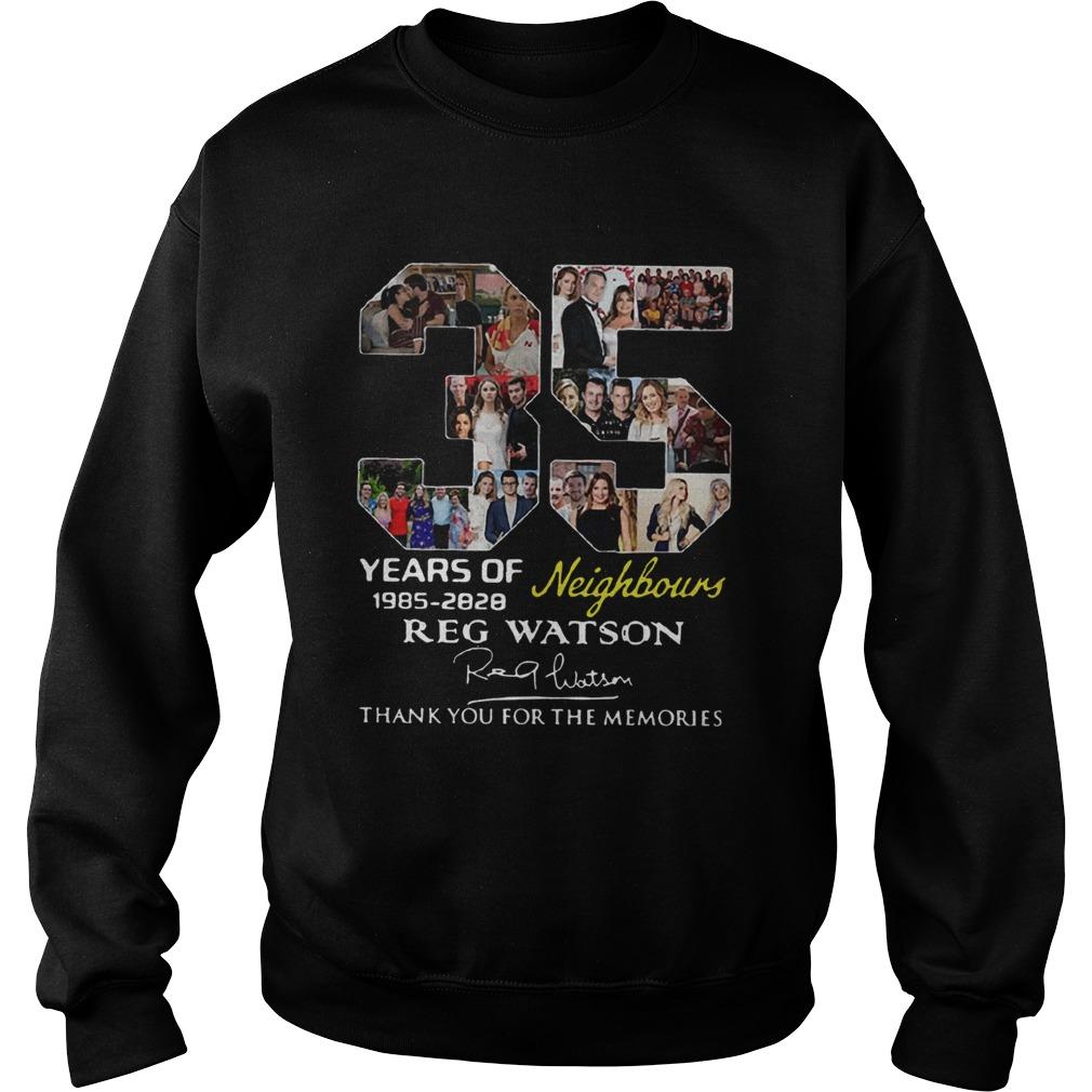 35 Years of Neighbours Reg Watson thank you for the memories  Sweatshirt