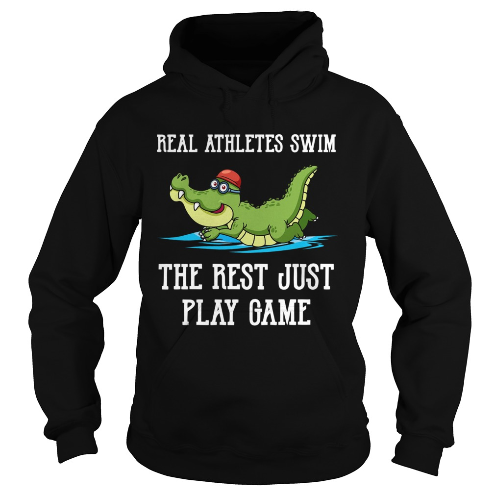 Baby crocodile Real Athletes Swim The First Just Play Game  Hoodie