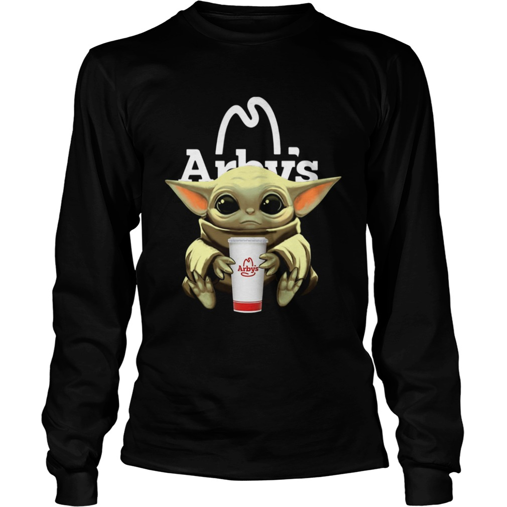 Baby Yoda Hug Arbys  LongSleeve
