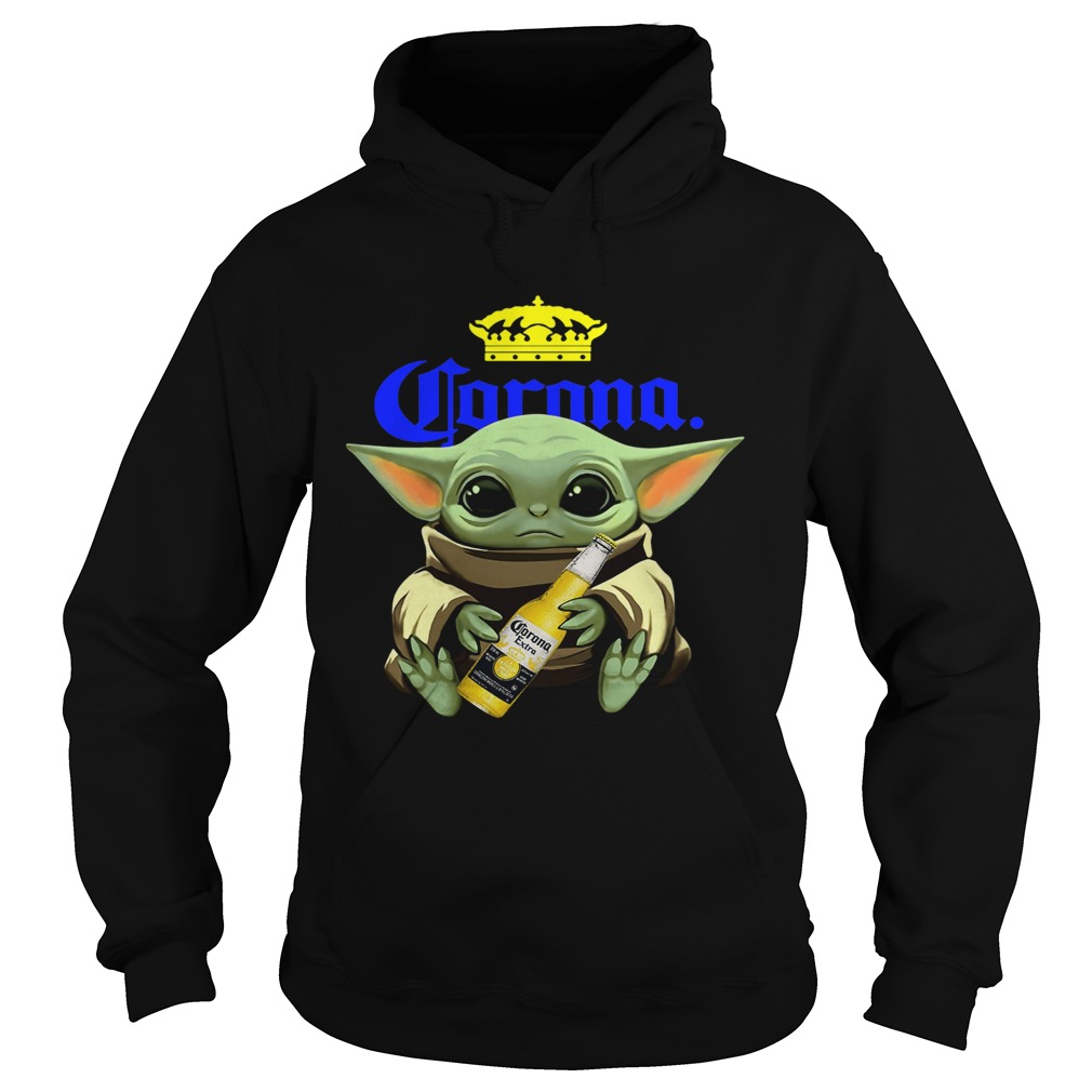 Baby Yoda Hug Corona  Hoodie