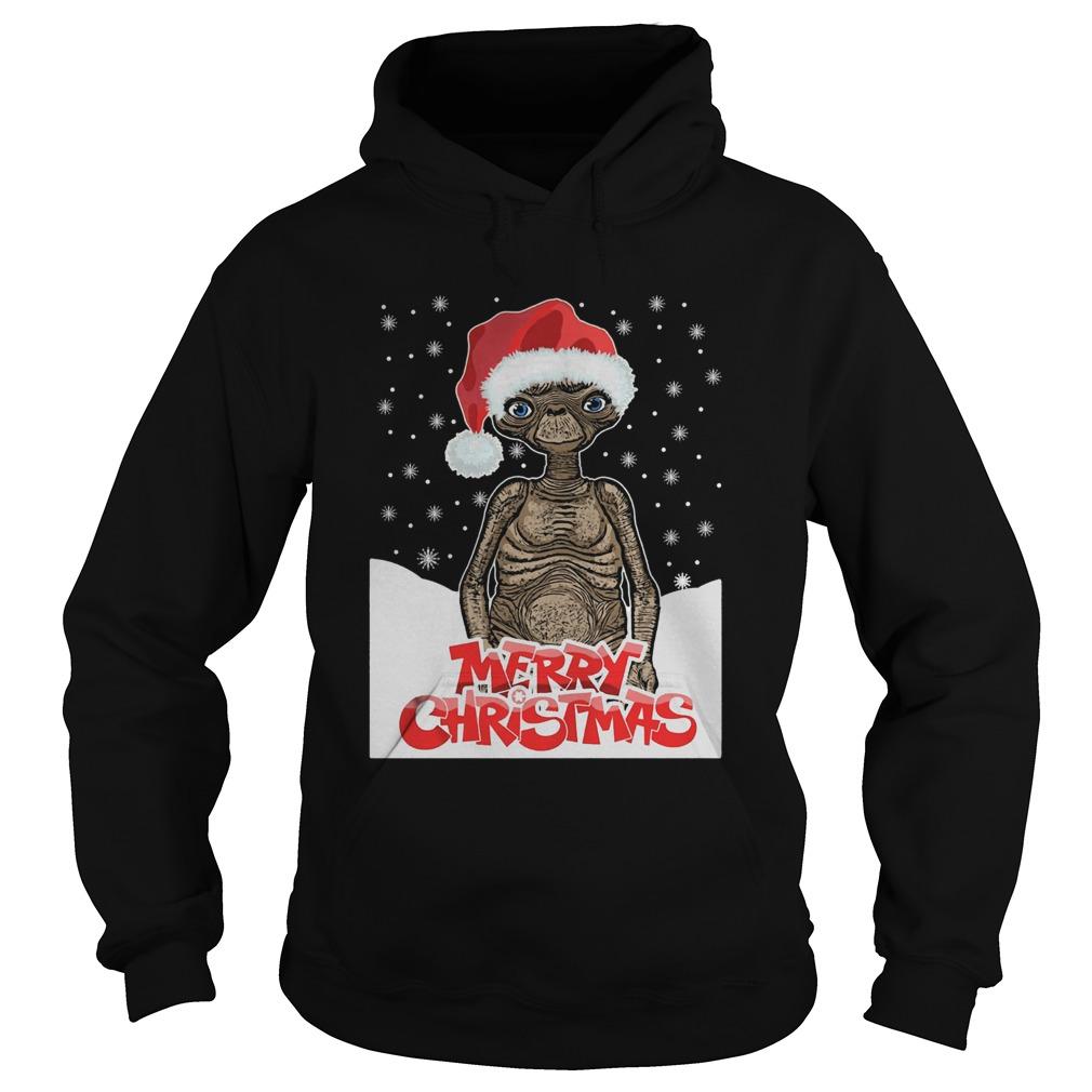 ET The Extra Terrestrial Christmas  Hoodie