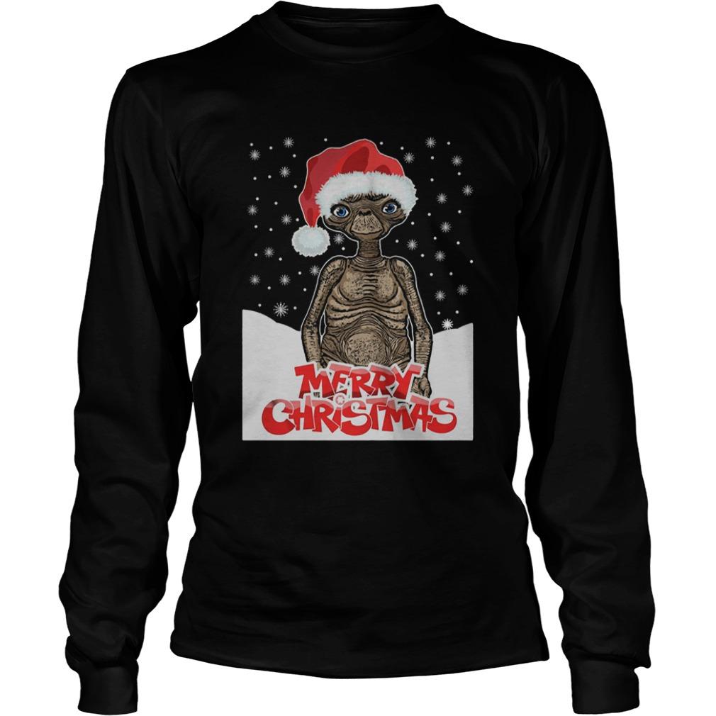 ET The Extra Terrestrial Christmas  LongSleeve