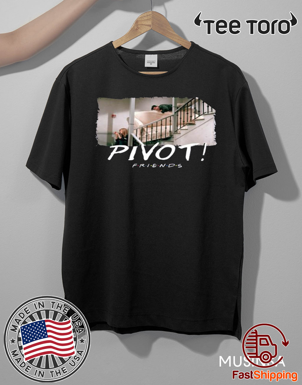 Pivot Pivot Pivot Friends TV show Original T-Shirt