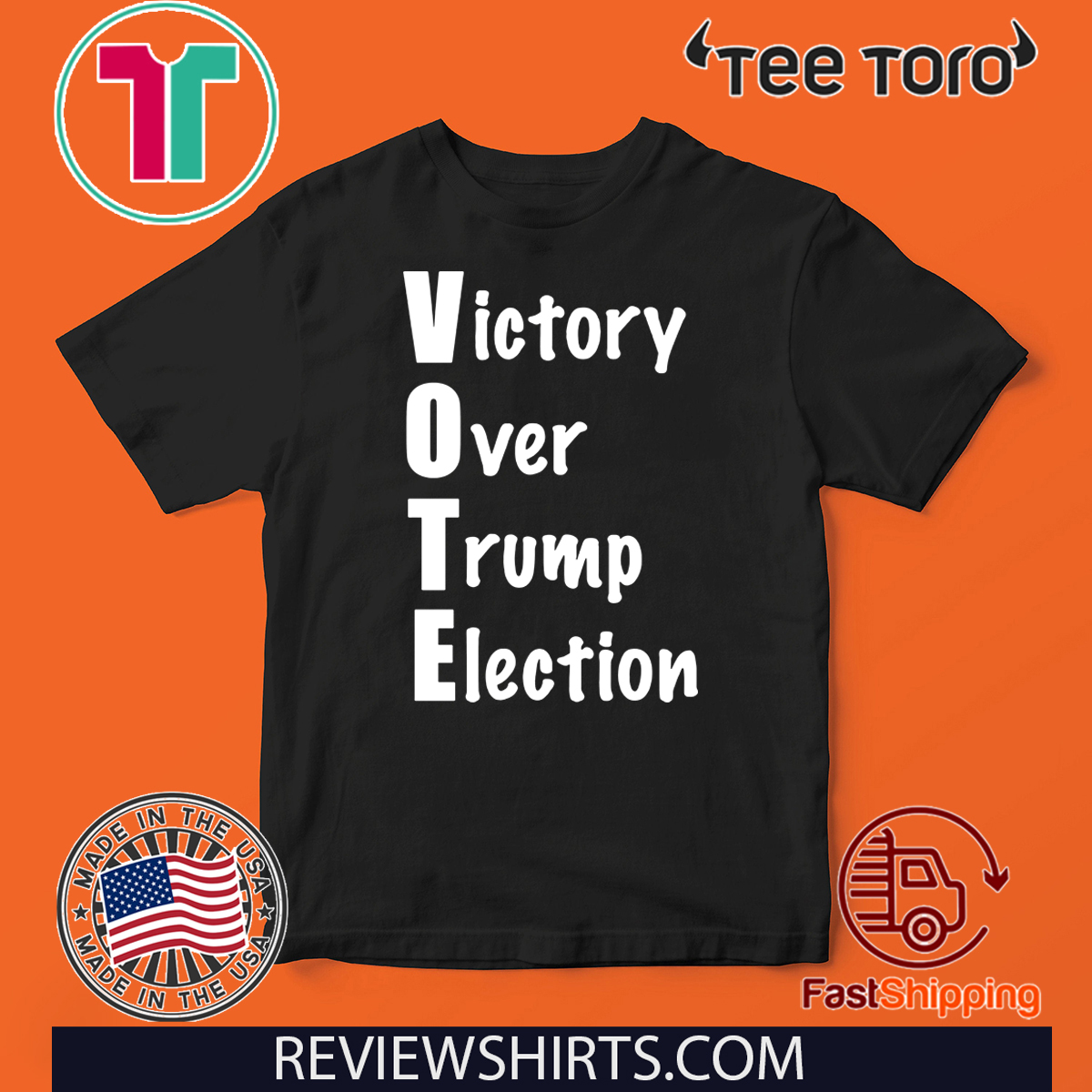 Victory Over Donald Trump Election T-Shirt