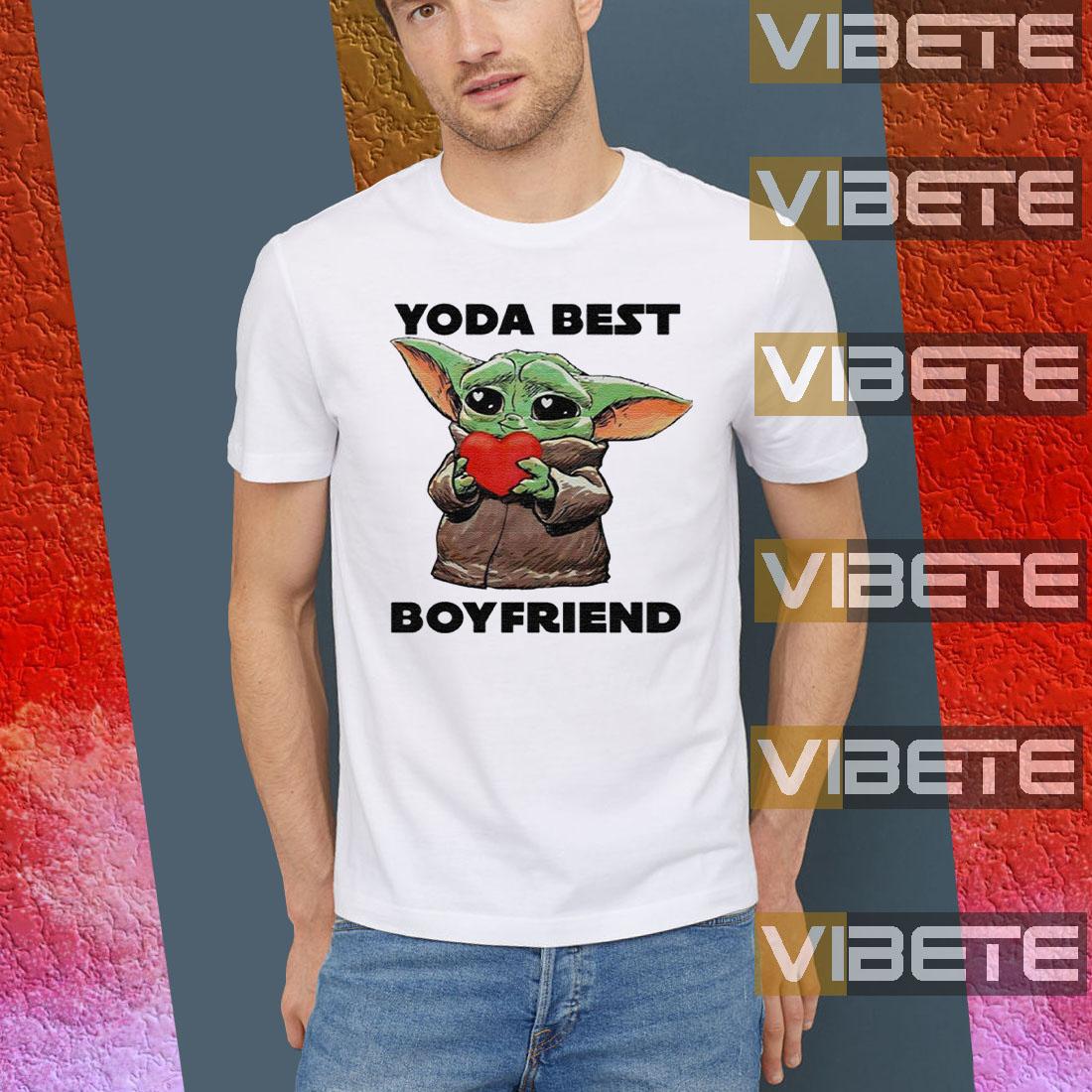 Baby Yoda Best Boyfriend TShirts