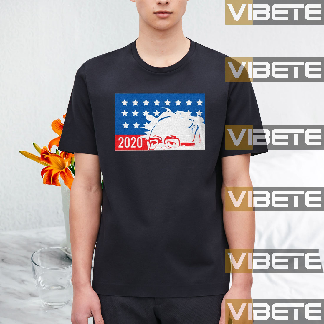 Bernie 2020 American T-Shirt