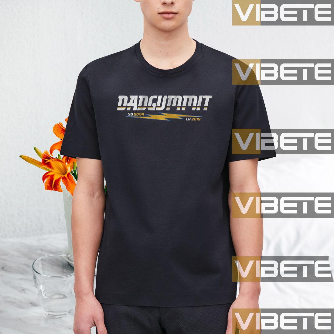 Dadgummit San Diego and Los Angeles Football T-Shirt