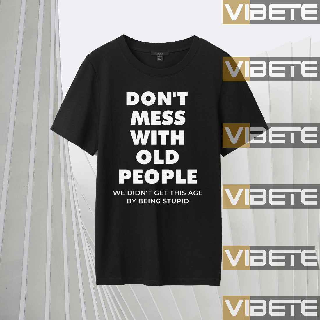 don't mess with old people for Father's Day Shirts