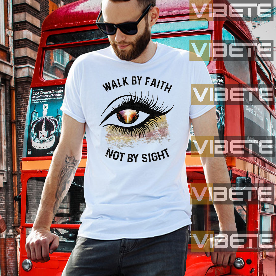 Eye Walk By Faith Not By Sight Shirts