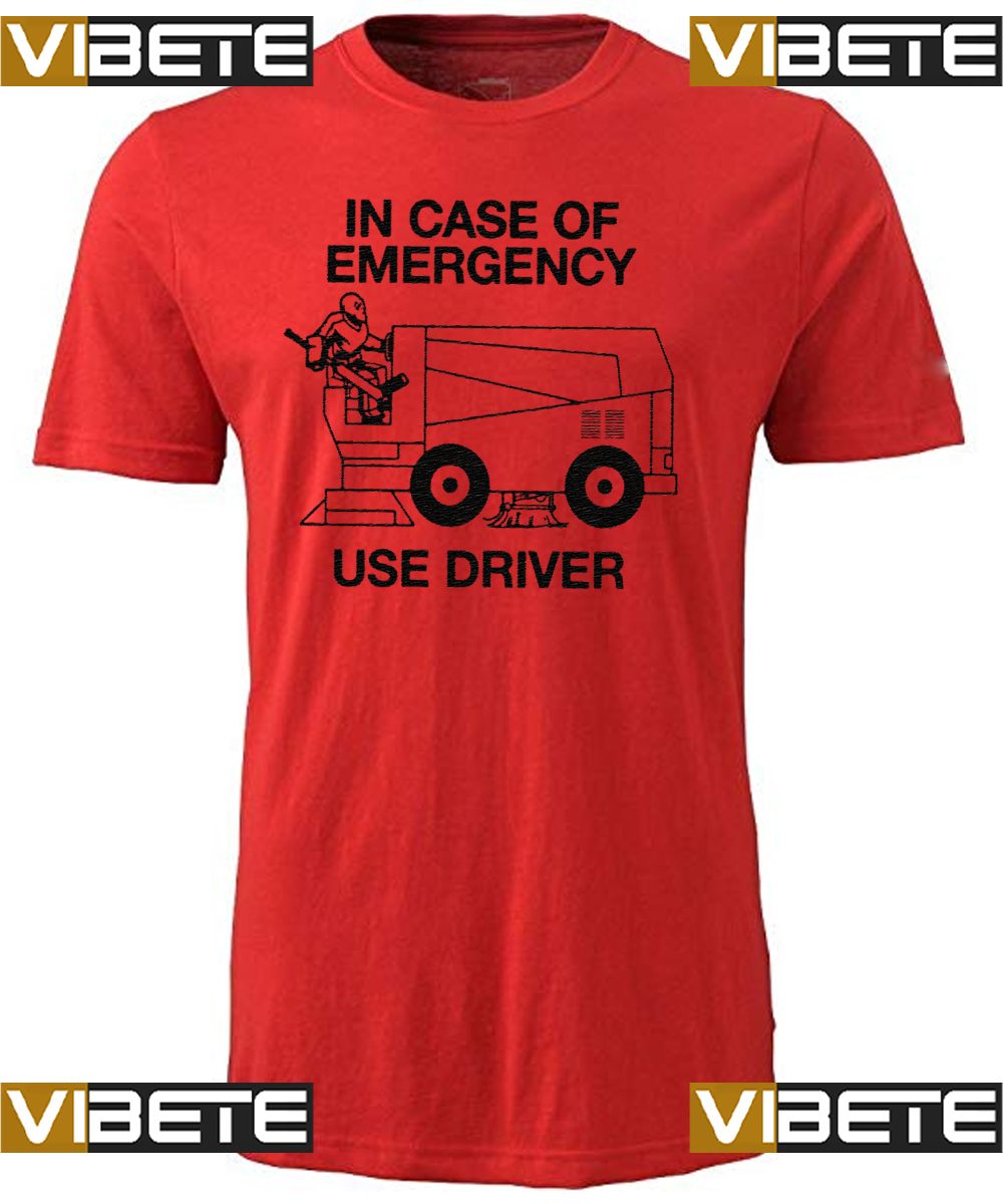 IN CASE OF EMERGENCY – USE DRIVER SHIRTS