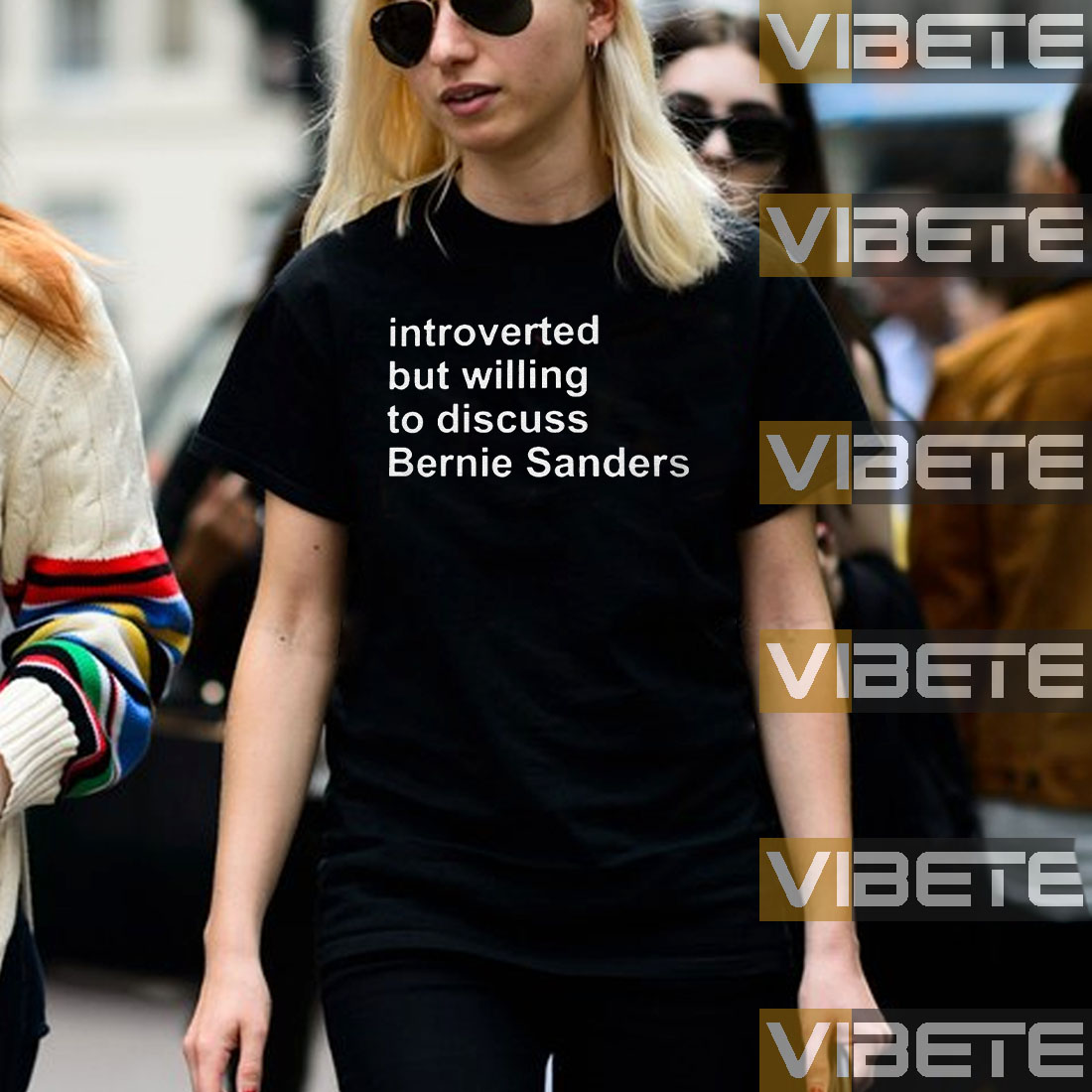 Introverted But Willing To Discuss Bernie Sanders Shirt