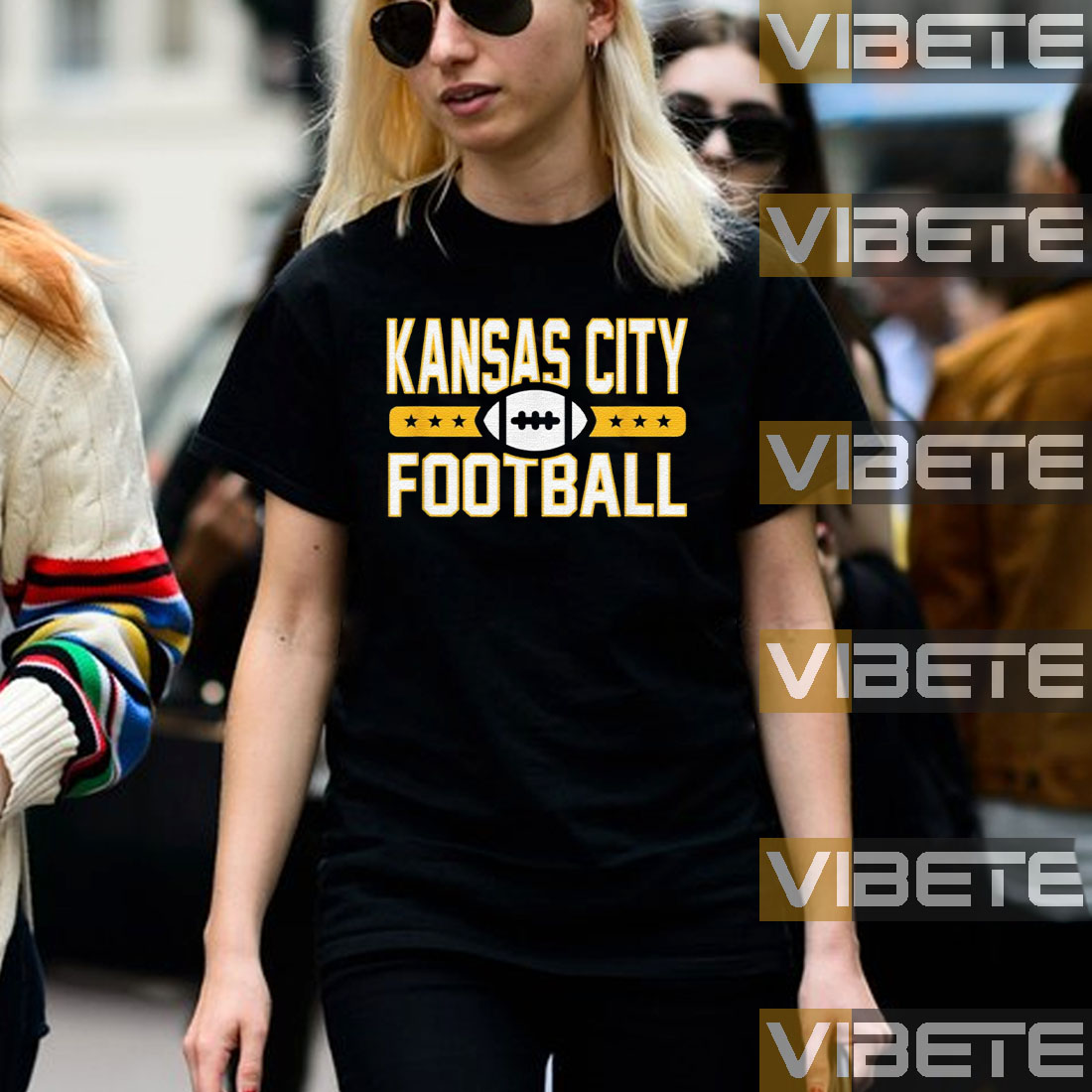 Kansas City Football Goalline TShirts