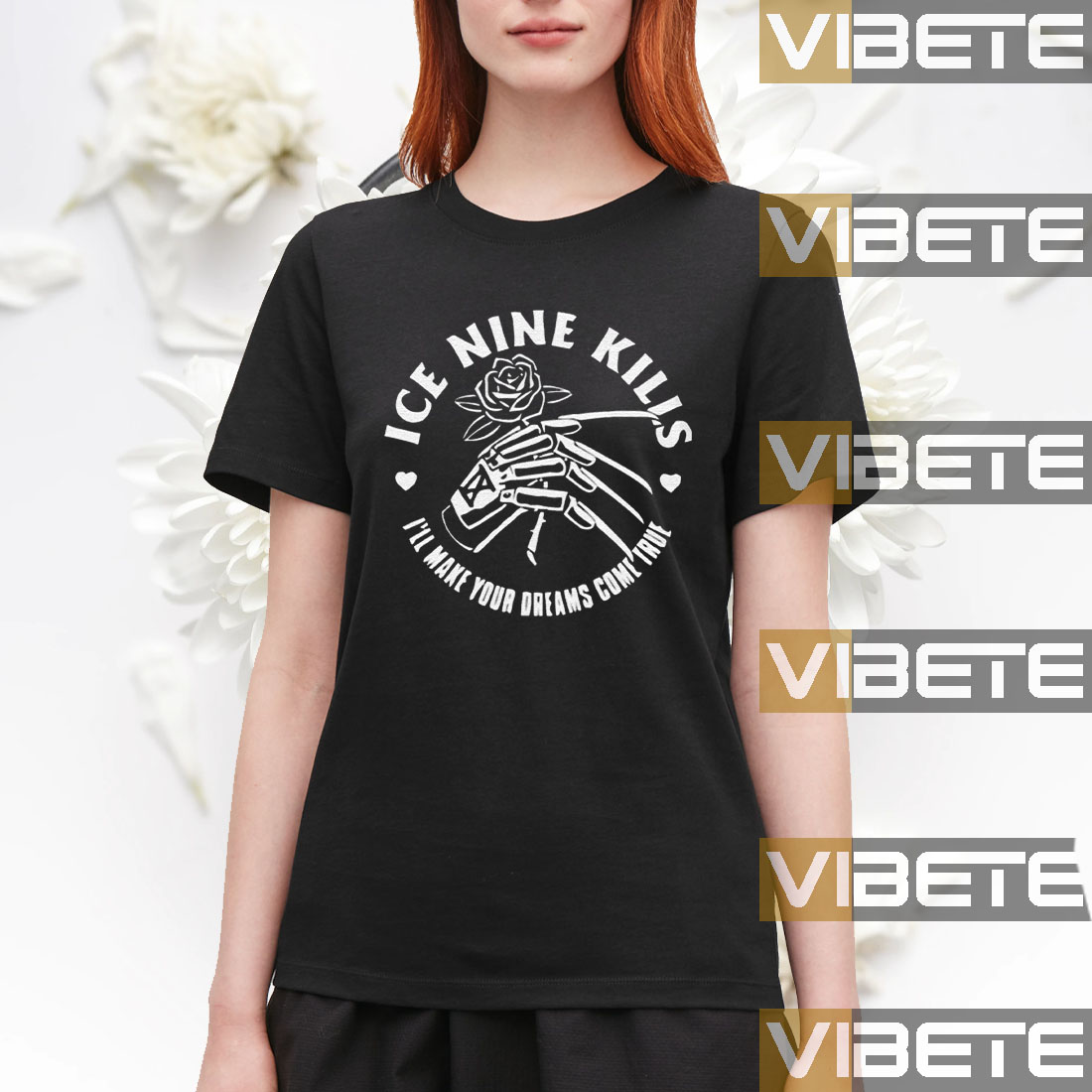 Love From The Glove Dye Shirt - Ice Nine Kills Shirts