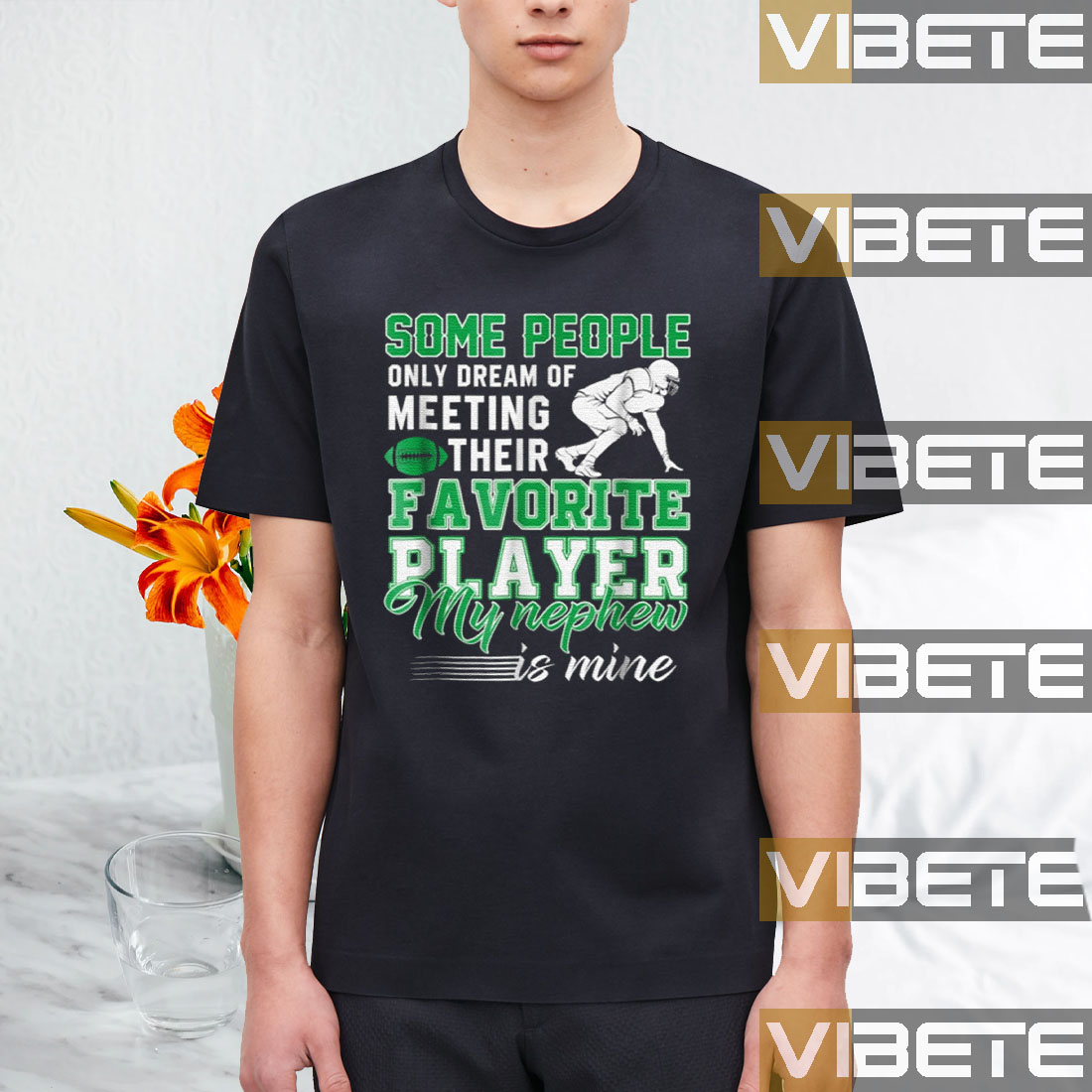 Some People Only Dream Of Meeting Their Favorite Player My Nephew Is Mine T-Shirt